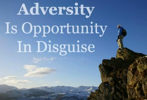 Seek out opportunity in adversity