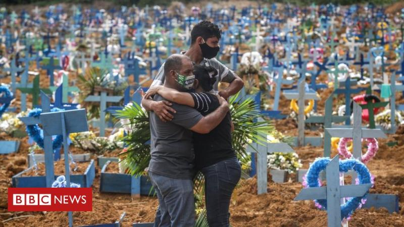 Brazil's daily deaths hit 1000 per day