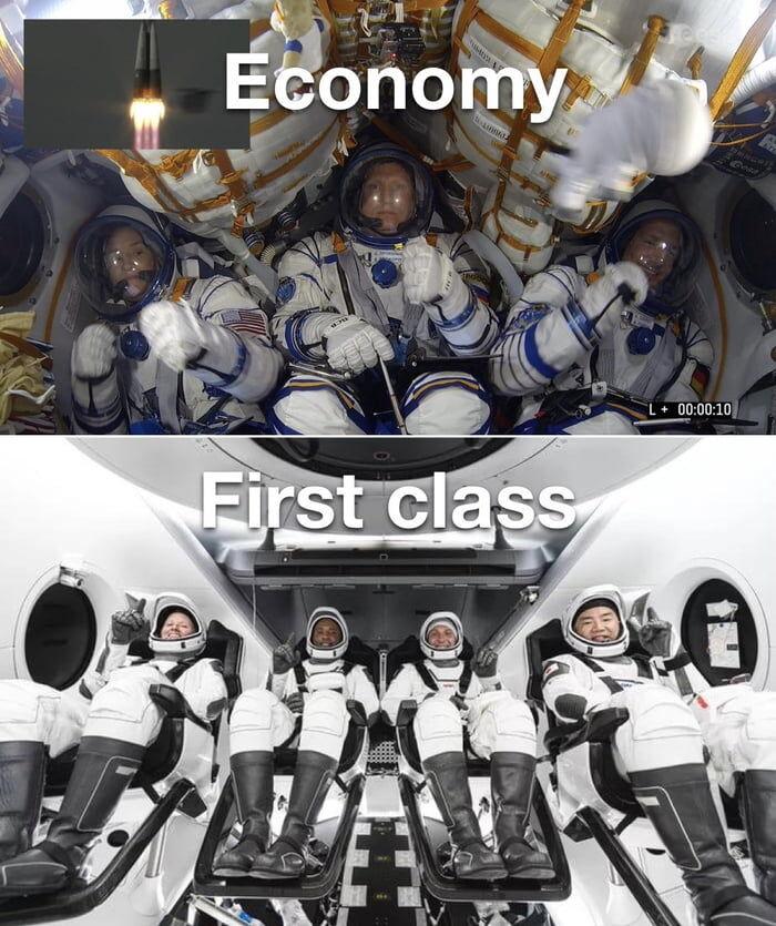 Soyuz vs Falcon / Dragon